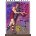 1997 Ultimate - SIGNATURE - Robert HARVEY (Saints) EJ Whitten Medal