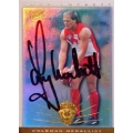 1997 Ultimate - SIGNATURE - Tony LOCKETT (Saints) Coleman