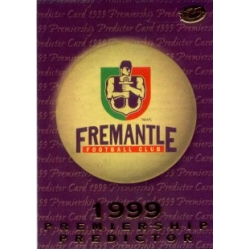 1999 Premiere - Predictor - FREMANTLE