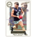 2001 Authentic - Brett RATTEN (Carlton)
