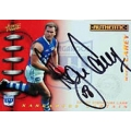 2001 Authentic - Captain Signature - Wayne CAREY (Kangaroos)