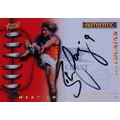 2001 Authentic - Captain Signature - Ben COUSINS (Eagles)
