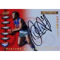 2001 Authentic - Captain Signature - Chris GRANT (Bulldogs)