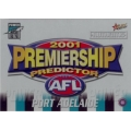 2001 Authentic - Predictor - PORT ADELAIDE