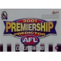 2001 Authentic - Predictor - COLLINGWOOD