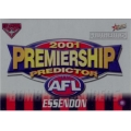 2001 Authentic - Predictor - ESSENDON