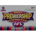 2001 Authentic - Predictor - FREMANTLE