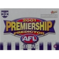 2001 Authentic - Predictor - GEELONG