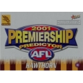 2001 Authentic - Predictor - HAWTHORN