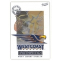 2001 Authentic - Common Team Set - West Coast Eagles (13)