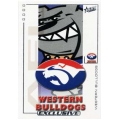 2002 Exclusive - Common Team Set - Western Bulldogs (14)