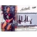 2002 SPX Gold - Tribute SIGNATURE - Stephen SILVAGNI (Carlton)