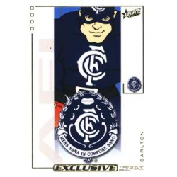 2002 SPX Gold - Common Team Set - Carlton Blues (14)