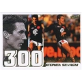 2002 SPX Gold - 300 Game Case Card - Stephen SILVAGNI (Carlton)