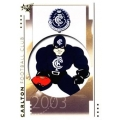 2003 XL - Common Team Set - Carlton Blues (10)