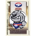 2003 XL - Common Team Set - Western Bulldogs (10)