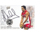 2003 XL Ultra - Nick DAVIS (Collingwood/Sydney)