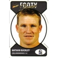 2005 Tradition - Footy Faces Die Cut Team Set - Collingwood Magpies (10)