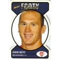 2005 Tradition - Footy Faces Die Cut Team Set - Melbourne Demons (10)