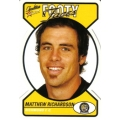2005 Tradition - Footy Faces Die Cut Team Set - Richmond Tigers (10)