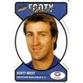 2005 Tradition - Footy Faces Die Cut Team Set - Western Bulldogs (10)