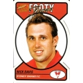 2005 Dynasty - Guernsey Die Cut Team Set - Sydney Swans (11)