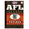 2005 Dynasty - Predictor - PORT ADELAIDE
