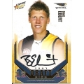2008 Classic - Draft Pick Signature Gold - Brad EBERT (Eagles)