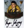 2009 Pinnacle - Draft Pick Signature - Ryan SCHOENMAKERS (Hawthorn)
