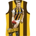 2010 Champions - Holographic Guernsey Team Set - Hawthorn Hawks (11)