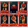 2012 Champions - DIY Laser Stickers - Silver - Gold Coast Suns (12)