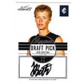 2012 Eternity - Draft Pick Signature - Josh BOOTSMA (Carlton)