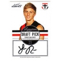 2012 Eternity - Draft Pick Signature - Sebastion ROSS
