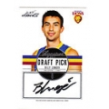 2012 Eternity - Draft Pick Signature - Billy LONGER (Brisbane)