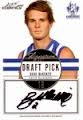 2012 Eternity - Draft Pick Signature - Bradley McKENZIE (Kangaroos)