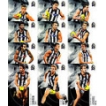 2012 Eternity - Common Team Set - Collingwood Magpies (12)