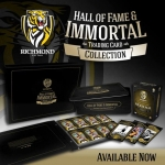 Hall of Fame & Immortal  - RICHMOND SET (129 + 9 SIGNATURES) #/200