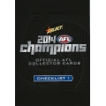 2014 Champions - Full Common/Base SET (220)