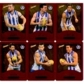 2014 Champions - Gold Foil Parallel Team Set - North Melbourne Kangaroos (12)