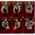 2014 Champions - Gold Foil Parallel Team Set - Port Adelaide Power (12)