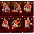 2014 Champions - Gold Foil Parallel Team Set - Sydney Swans (12)