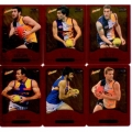 2014 Champions - Gold Foil Parallel Team Set - West Coast Eagles (12)