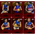 2014 Champions - Gold Foil Parallel Team Set - Western Bulldogs (12)