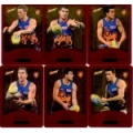 2014 Champions - Gold Foil Parallel Team Set - Brisbane Lions (12)