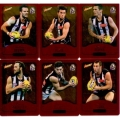 2014 Champions - Gold Foil Parallel Team Set - Collingwood Magpies (12)