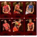 2014 Champions - Gold Foil Parallel Team Set - Gold Coast Suns (12)