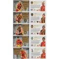 2014 Honours - MEDAL WINNERS SET (5)
