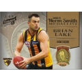 2014 Honours - Brian LAKE (Hawthorn) Norm Smith