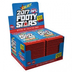 2017 Foot Stars Sealed Box (36 Packs)