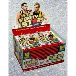 2019 Footy Stars - Sealed BOX (36) FREE POSTAGE